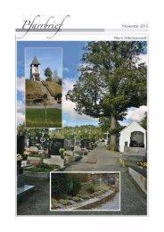 Pfarrbrief 11 - November 2012 (771 KB) - .PDF - Altlichtenwarth