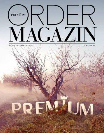 HERBST / WINTER 2012 / 2013 AUSGABE 02 - PREMIUM Exhibitions