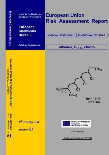 European Union Risk Assessment Report - EU Bookshop - Europa