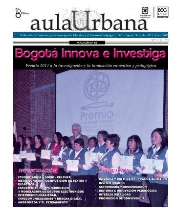 Magazin Aula Urbana Edición numero 83 - IDEP