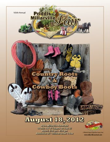 August 18, 2012 August 18, 2012 - Millarville Racing and ...