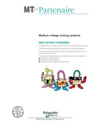 MV Partner B51: medium voltage locking systems