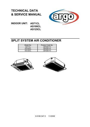 Im 802 Acu Split System Air Conditioners Mcquay
