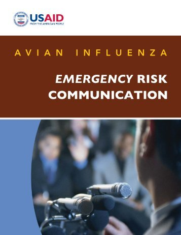 Avian Influenza Emergency Risk Communication Guide - Avian and ...