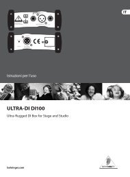 manuale in italiano - Centro musicale