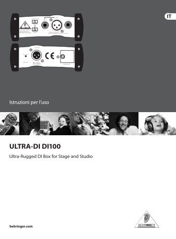 manuale in italiano - Centro musicale