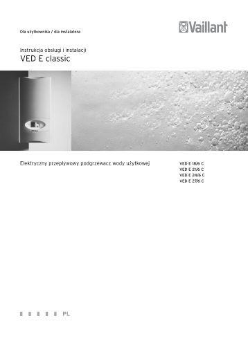 VED E classic - Vaillant