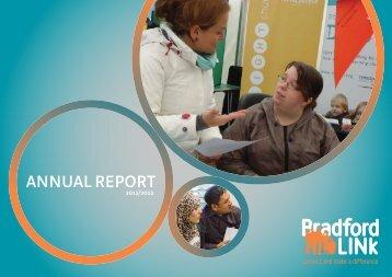 Annual Report 11-12 - Bradford LINk