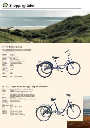 Shoppingräder - Zweirad Schwarz