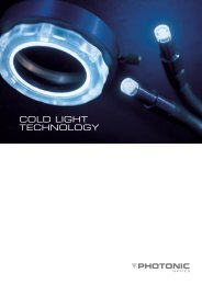 COLD LIGHT TECHNOLOGY - Optoteam.at