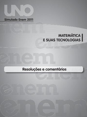 Gabarito Matemática