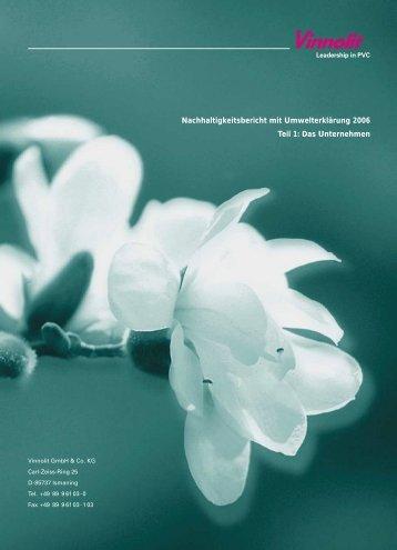 Teil 1 - Das Unternehmen (PDF) - Vinnolit