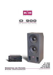 Description and Features - Klein + Hummel