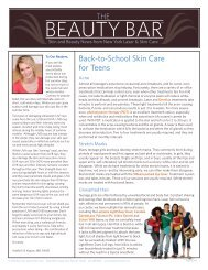 Fall 2010 Issue - New York Laser & Skin Care