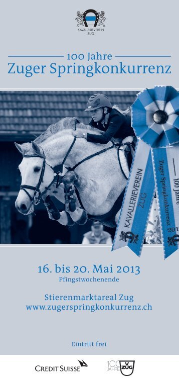 Flyer Zuger Springkonkurrenz 2013 (PDF)