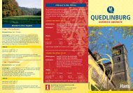 QUEDLINBURG KURZREISE-ANGEBOTE