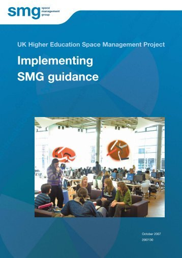 Implementing SMG Guidance - Space Management Group