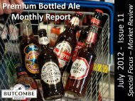 Premium Bottled Ale Monthly Report July 2012 ... - bottled butcombe