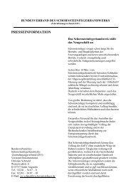 presseinformation - Bundesverband des Schornsteinfegerhandwerks