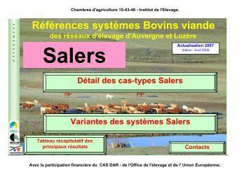 Industrie laiti re dans le cantal draaf auvergne for Chambre agriculture auvergne