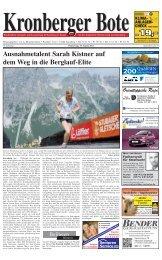 Kronberger Bote - Taunus Nachrichten