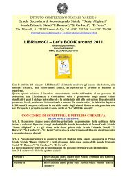 LIBRIamoCI – Let's BOOK around 2011 - istituto comprensivo statale ...
