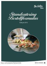 catering (Bestellformular-Standcatering-MESSE ... - KarriereStart