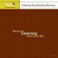 view our new menu - Dining Services Website