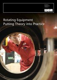 Rotating Equipment Training Brochure - Weir Oil & Gas Division