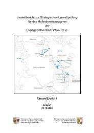 SUP-Umweltbericht - Auf zu neuen Ufern!