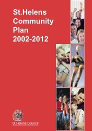 St.Helens Community Plan 2002-2012 - St Helens Council