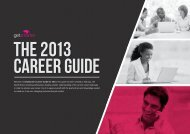 GetSmarter 2013 Career Guide