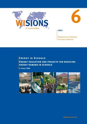 Energy in Schools - WISIONS of Sustainability