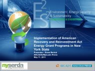 Implementation of American Recovery and Reinvestment Act ... - E2S2