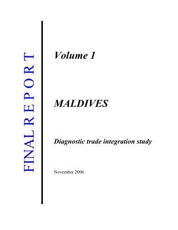 DTIS, Volume I - Enhanced Integrated Framework (EIF)