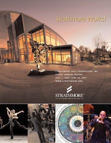 Strathmore Works! Strathmore Works!