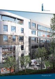 Prospectus 2011 - The UCL Academy