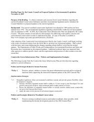 Briefing Paper for the County Council on Proposed Updates to ...