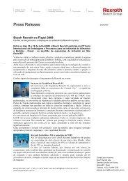 Press Release - Bosch Rexroth