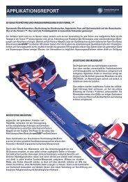 3D-Qualitätsprüfung und Fahrzeugvermessung in der Formel 1 TM
