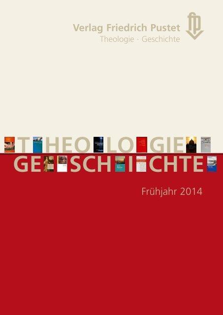 Verlagsvorschau Frühjahr 2014 - Pustet Verlag