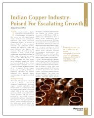 Indian Copper Industry: Poised For Escalating ... - Metalworld.co.in