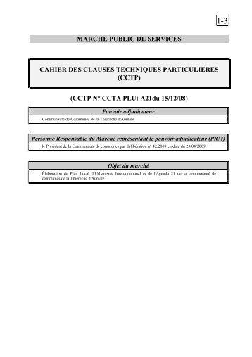 1-3 CCTP PLUi - La Communauté de Communes de la Thiérache d ...