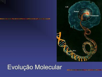 Evolucao Molecular.pdf - Instituto de Biologia da UFRJ