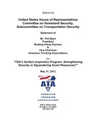 United States House of Representatives Committee on Homeland ...