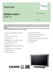MYRICA VQ32-1 LCD-TV - Prad