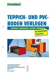 TEPPICH- UND PVC- BODEN VERLEGEN - Praktiker