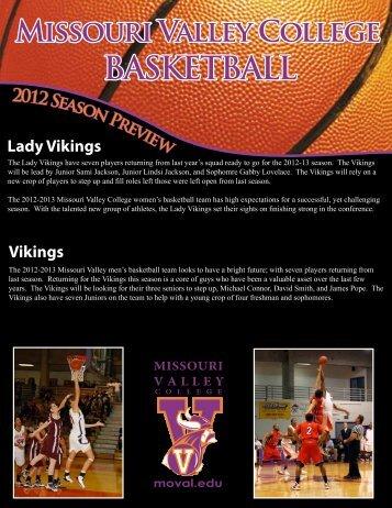 BASKETBALL - Missouri Valley College
