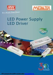 LED Power Supply LED Driver - Metaltex