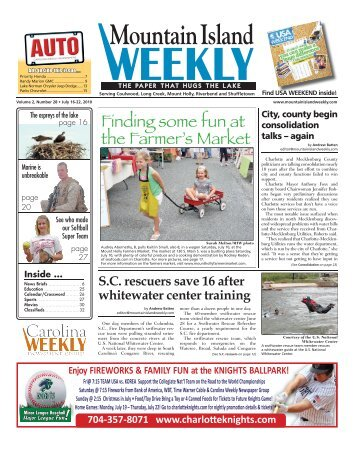 Mountain Island - Carolina Weekly Newspapers